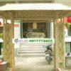 cổng tre nhà hàng
