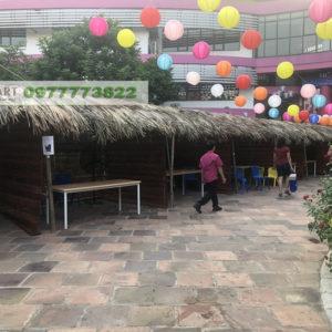 gian hàng chợ quê tại Hà Nội