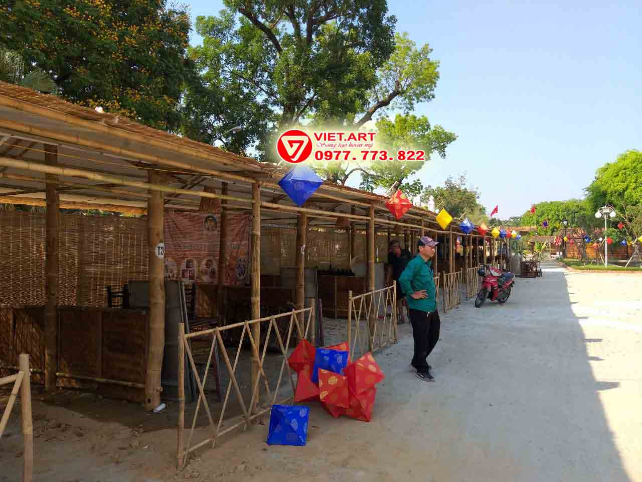 Tổ chức sự kiện Hội chợ quê