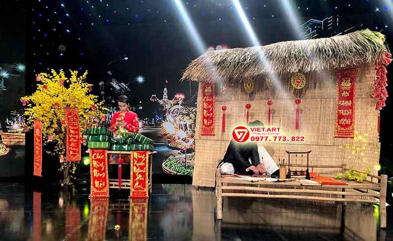 Trang trí tiểu cảnh tết tại Hà Nội Đẹp